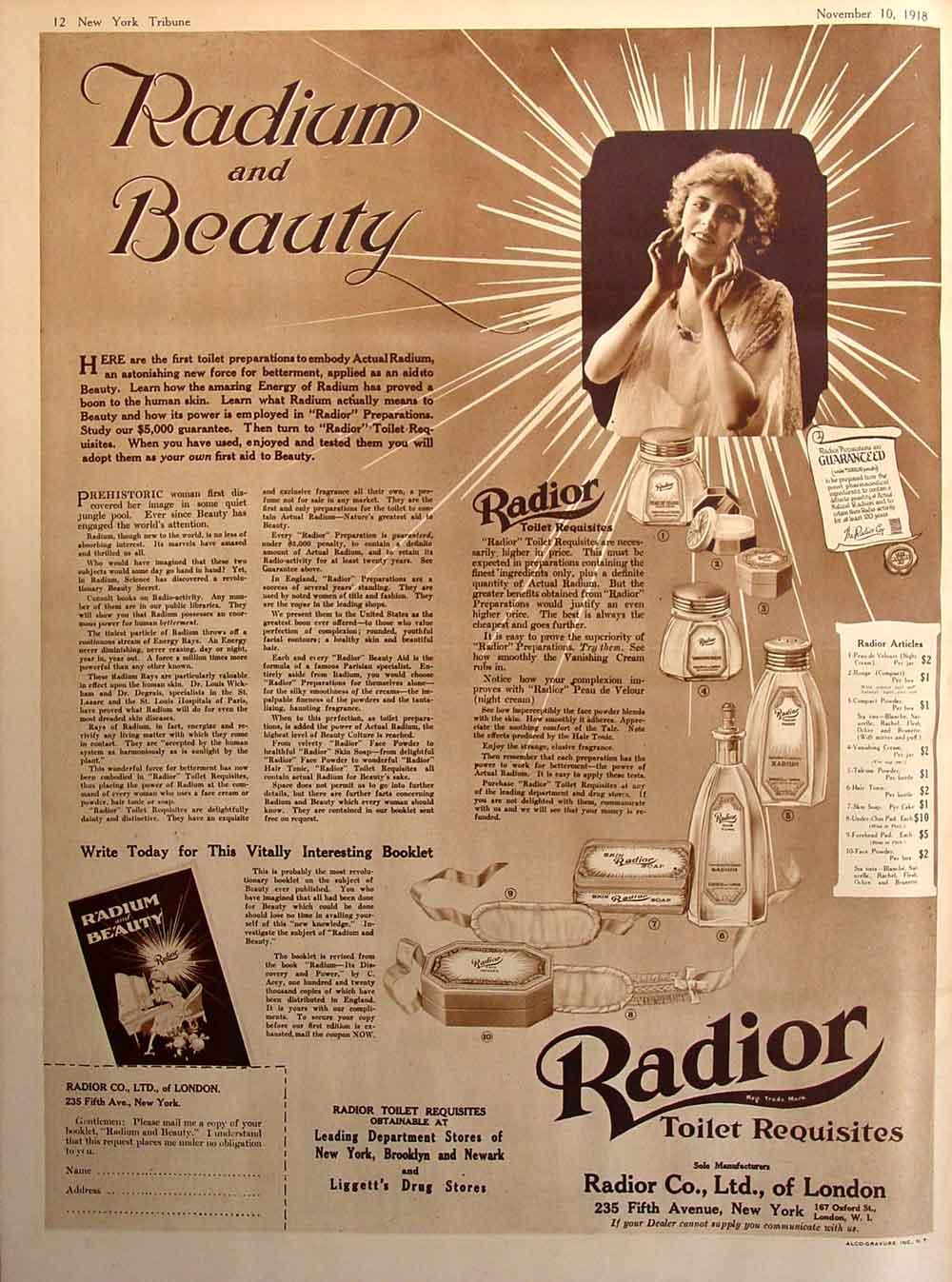 Radio y belleza