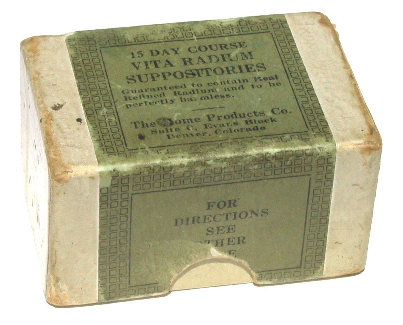 Cosmética y medicinas en 1920: Un poco de radiactividad para ser bellos y sanos 4