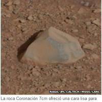 Curiosity usa láser pulverizador para analizar rocas
