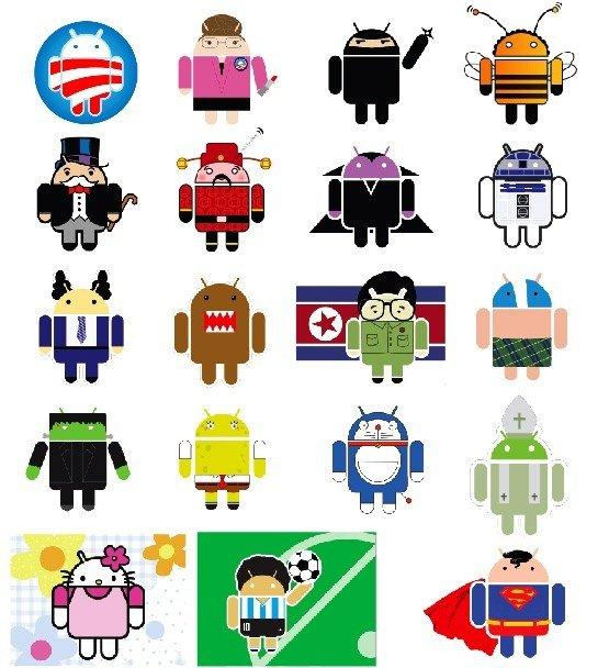 ¿Porque el logo de Android es como lo conocemos? 1
