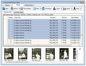 eliminar archivos duplicados en windows con Noclone