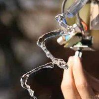 Experimentos con agua y sonidos con resultados impresionantes