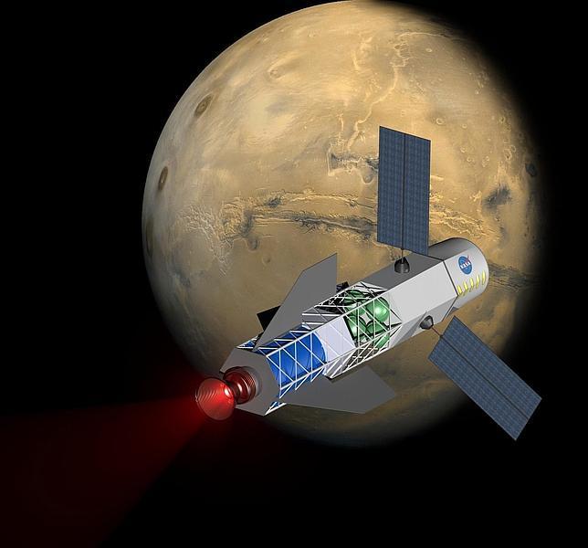 Humanos serán enviados a Marte con propulsión de fusión nuclear