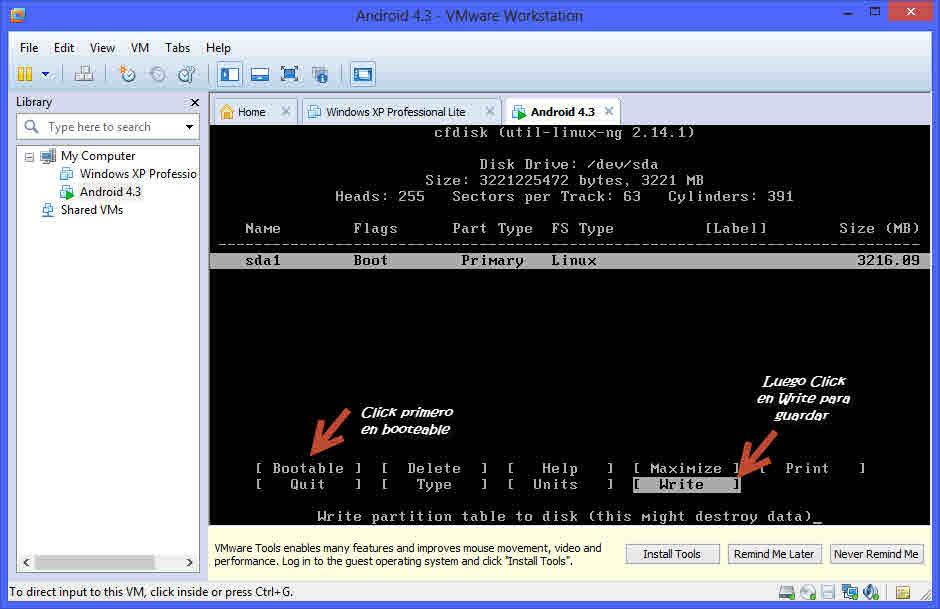 Como instalar Android en tu PC con una maquina virtual 11