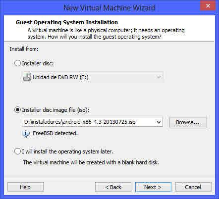 Como instalar Android en tu PC con una maquina virtual 3