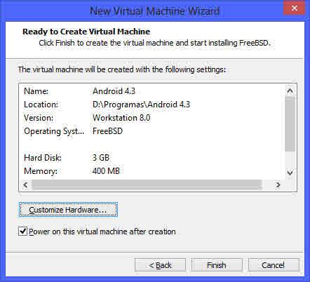 Como instalar Android en tu PC con una maquina virtual 5