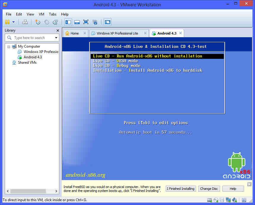 Como instalar Android en tu PC con una maquina virtual 7