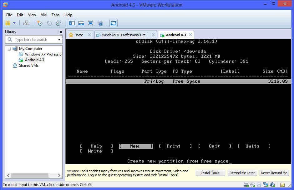 Como instalar Android en tu PC con una maquina virtual 8