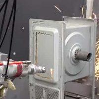 Herramienta de rayo láser o arma láser: video