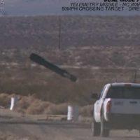 Impacto de misil teledirigido en camara lenta, video increible