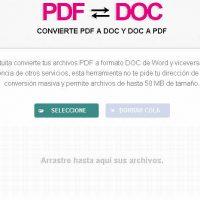 Convertir Pdf a Word muy fácilmente como PDF to DOC