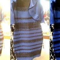 El dilema del vestido azul y negro o ¿blanco y dorado?