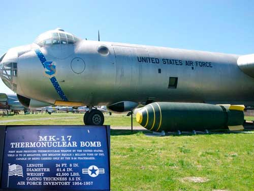 Bomba termonuclear bomba de hidrogeno