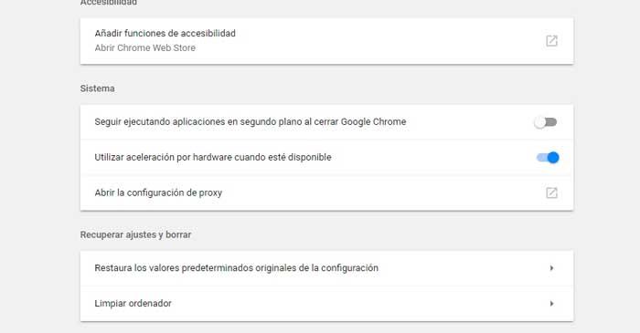 detectar malware en google chrome