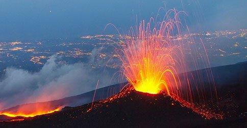 Los volcanes más activos del mundo 1