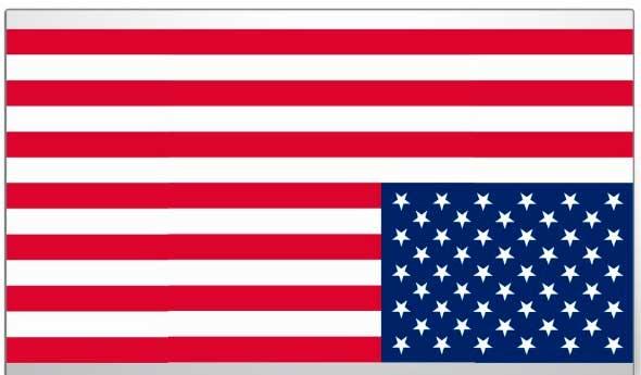 bandera al reves de estados unidos