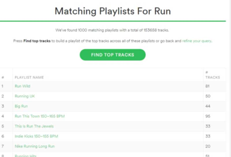the playlist miner busca musica spotify