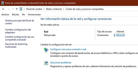 Como cambiar el nombre de red local en Windows 10 1