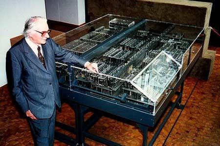 la computadora Z1 programable electromecanica