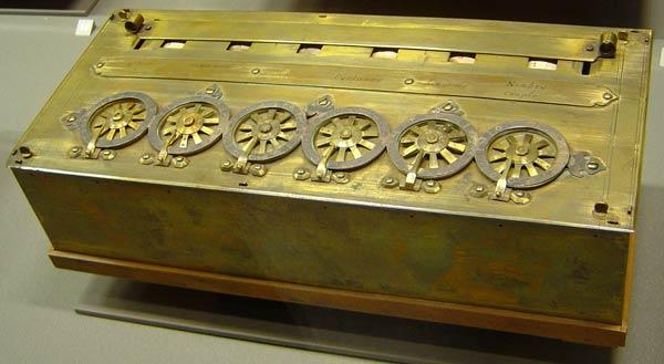 primera computadoras la pascalina