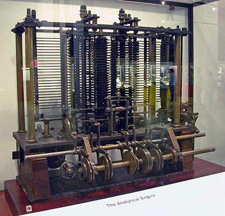 motor analitico de Babbage