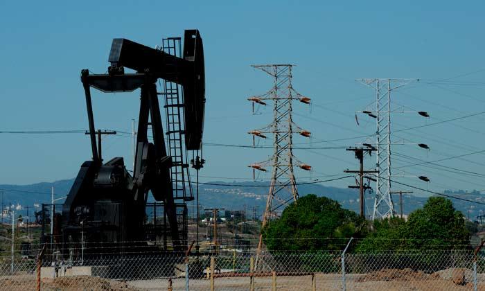 extracción de petroleo crudo