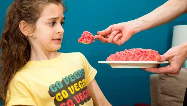 veganos no comen carne