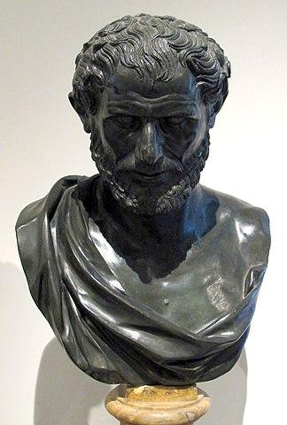 busto de Democrito