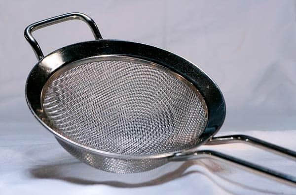 Tamiz común usado en cocina
