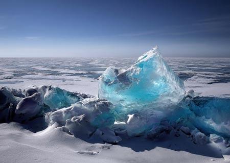 hielo nevado